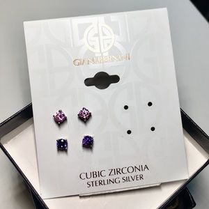 NWT sterling silver earrings 2 pair